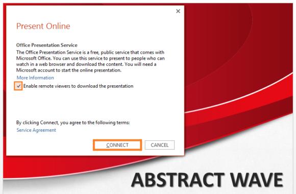 Present Online -- Slide Show - PowerPoint 2013 - Present Online - 2 - FreePowerPointTemplates