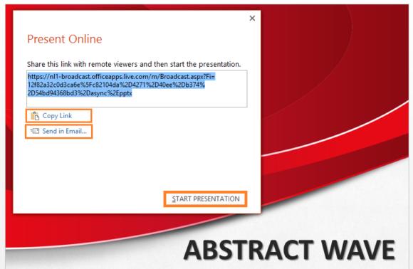 Present Online -- Slide Show - PowerPoint 2013 - Present Online - 4 - FreePowerPointTemplates