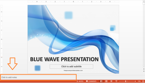 Presenter Notes -- Notes - Click to add notes - PowerPoint 2013 - FreePowerPointTemplates