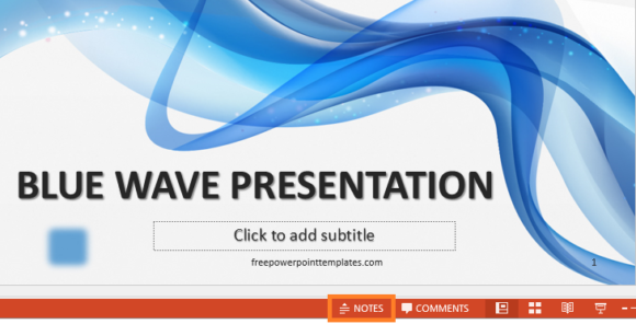 Presenter Notes -- Notes - FreePowerPointTemplates