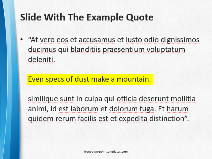 essay using quotes Using quotations in your essay many students tend to overuse direct quotations in their essays direct quotations should be used only when paraphrasing would.