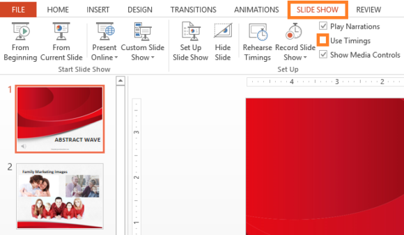 Rehearse -- PowerPoint 2013 - SLIDE SHOW - Rehearse Timings - Recording - 3 - FreePowerPointTemplates