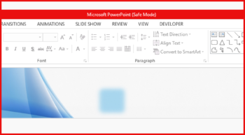 Safe Mode -- Featured - FreePowerPointTemplates