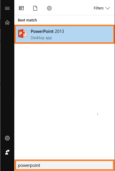 Safe Mode -- Start Menu - PowerPoint 2013 - FreePowerPointTemplates