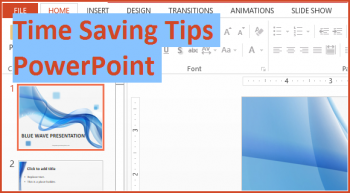 Save time - Featured - FreePowerPointTemplates