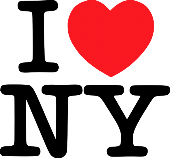 Simple Design - I Love NY - Pixabay - FreePowerPointTemplates