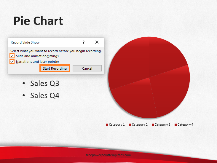 Record slideshow powerpoint 2013