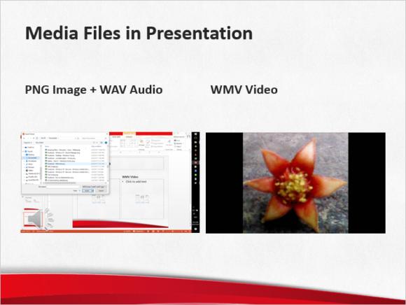 Smaller -- Media Files - FreePowerPointTemplates