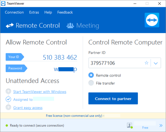 TeamViewer -- Remote Control - Teamviewer 12 - FreePowerPointTemplates