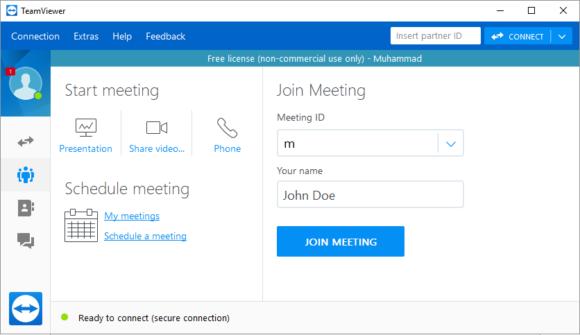 Webinar -- TeamViewer - Screenshot - FreePowerPointTemplates