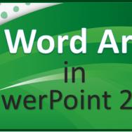 Word Art - Featured -2- FreePowerPointTemplates