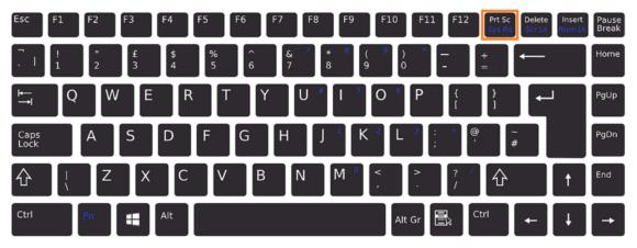Wrap Text -- Keyboard - PrtSc- FreePowerPointTemplates