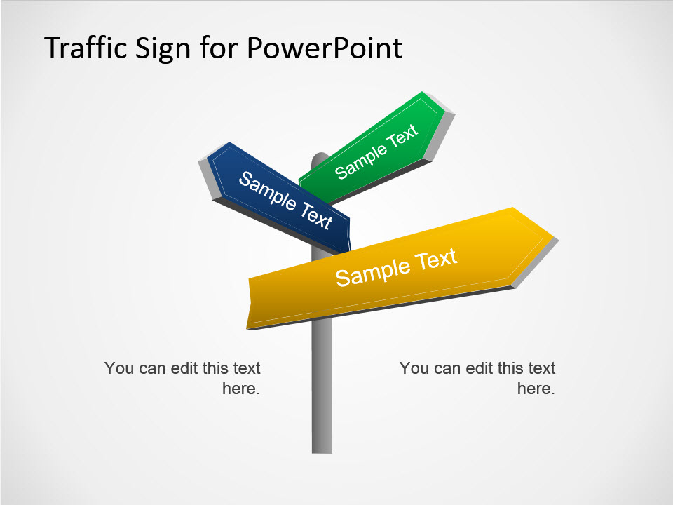 Free Traffic Signs Powerpoint Template
