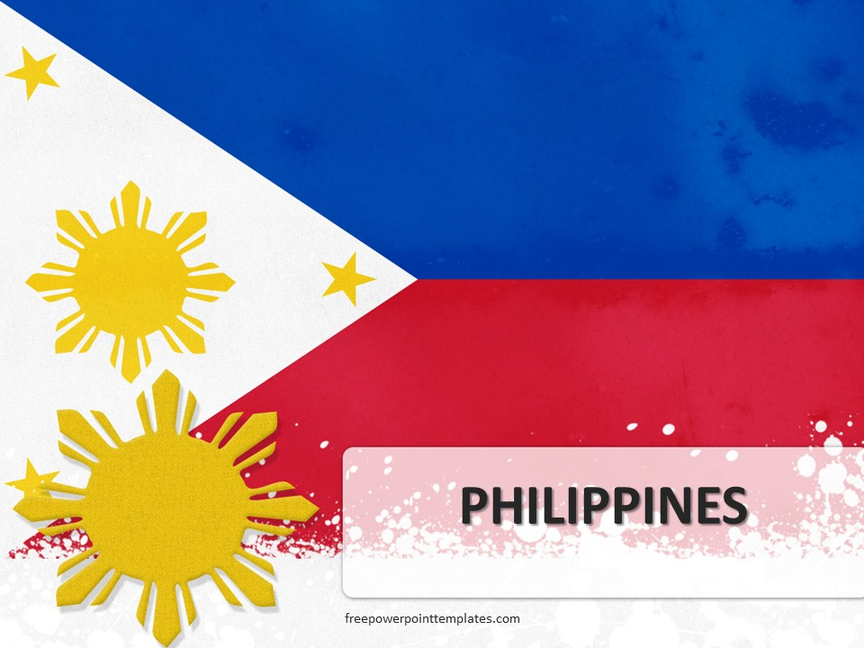free philippines powerpoint template