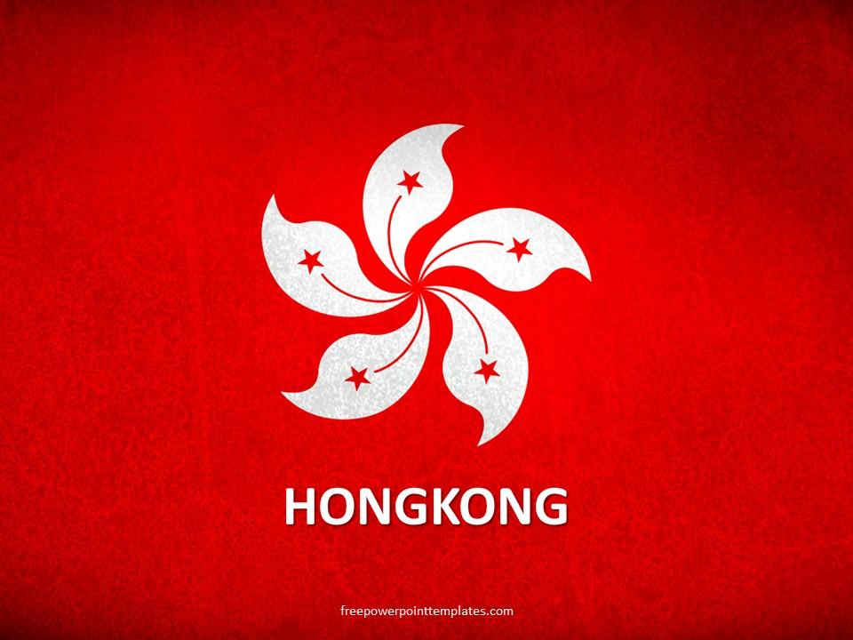 free hong kong powerpoint template