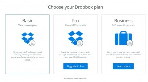 Dropbox (Online Business Tool for Data Backup) 1