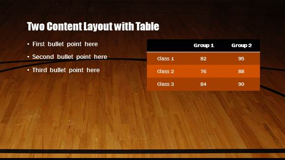 Free Basketball Template For Powerpoint Online 5 Free Powerpoint