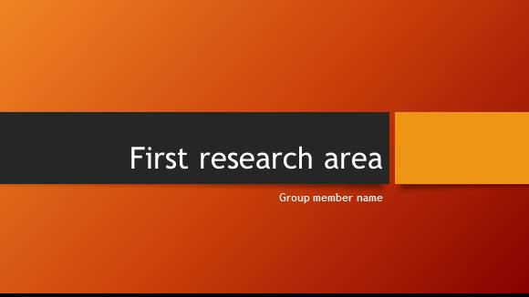 Free Group Project Template for PowerPoint Online 6