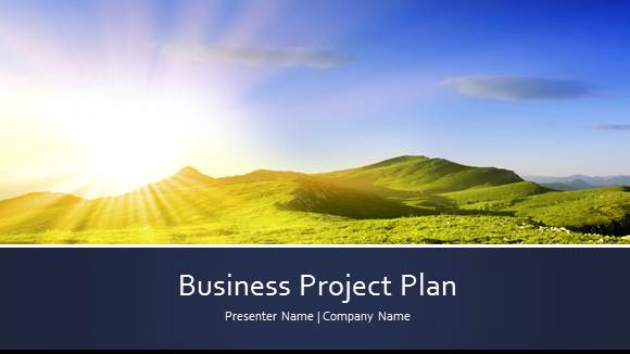 Free Project Template for PowerPoint Online 1