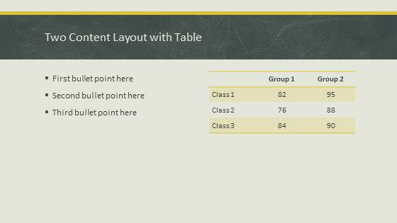 Free Education Chalkboard Template for PowerPoint - 3