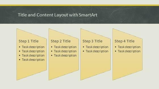 Free Education Chalkboard Template for PowerPoint - 4