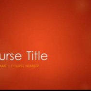 Free Academic Course Template 88