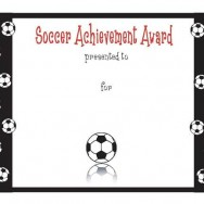 Free Soccer Performance Achievement Template for PowerPoint
