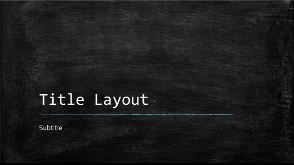 Free Classroom Chalkboard Template For Powerpoint Online Free