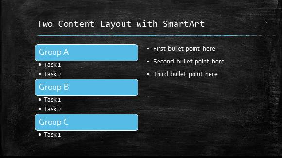 Free Clroom Chalkboard Template For Point Online 5