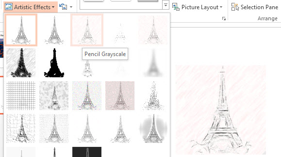 Adjust Color and Apply Artistic Effects in PowerPoint 2013 5