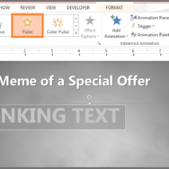 Blinking Text -- Featured - FreePowerPointTemplates
