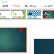 Change Slide Background in PowerPoint 2013 1