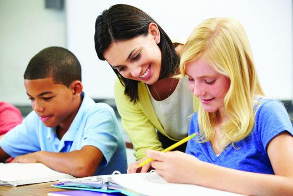 Classroom -- Smart Teacher - FreePowerPointTemplates