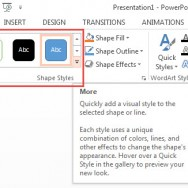 Formatting Shapes in PowerPoint 2013 1