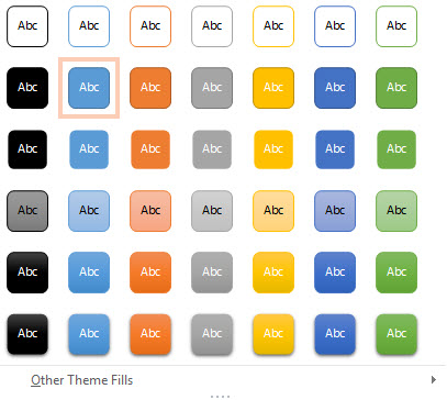 Formatting Shapes in PowerPoint 2013 2