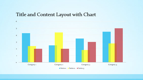 Free Blue Border Template for PowerPoint Online 2