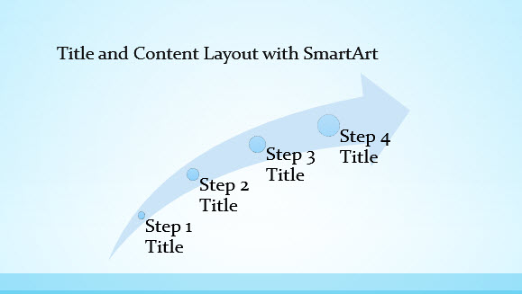 Free Blue Border Template for PowerPoint Online 3