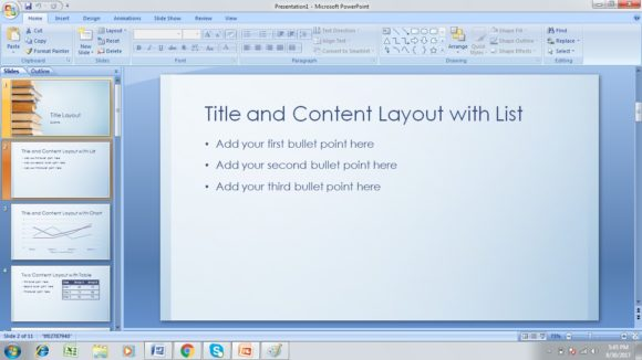Free BookStack PowerPoint Template 2