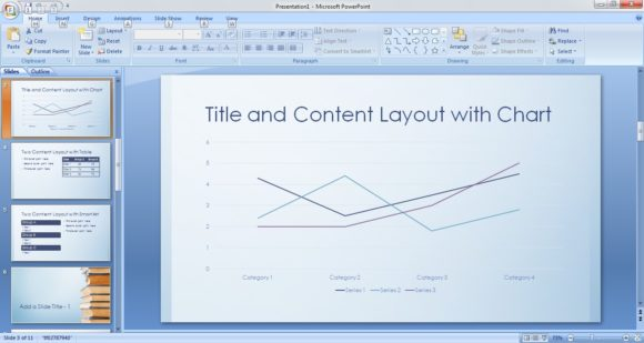 Free BookStack PowerPoint Template 3