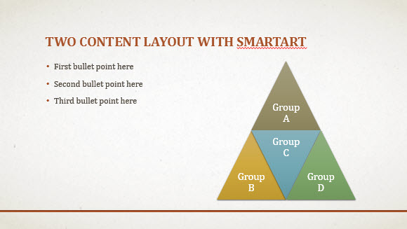 Free Business Beige Template for PowerPoint Online 2