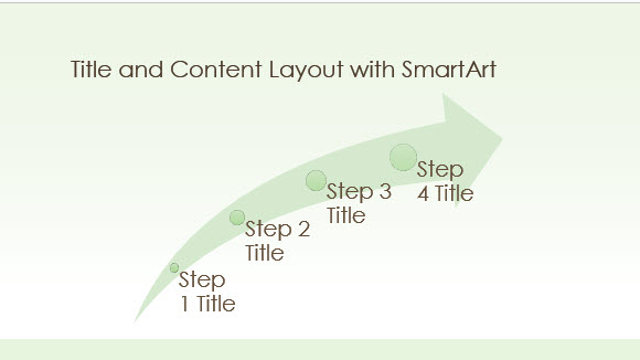 Free Green Border Template for PowerPoint Online 2