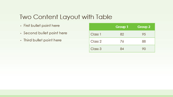 Free Green Border Template for PowerPoint Online 3
