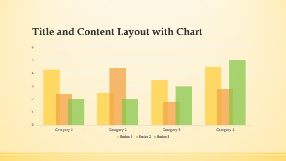 free yellow band template for powerpoint online