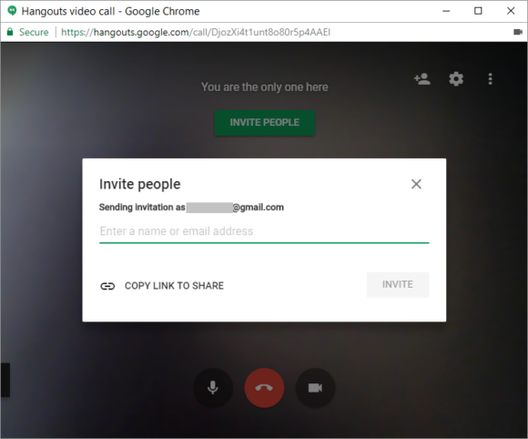 Google Hangouts -- Invite People - 3 - FreePowerPointTemplates
