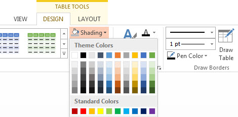 How To Apply Borders and Shading in PowerPoint 2013 3