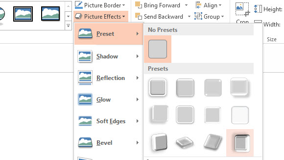 How To Apply Special Effects in PowerPoint 2013 1