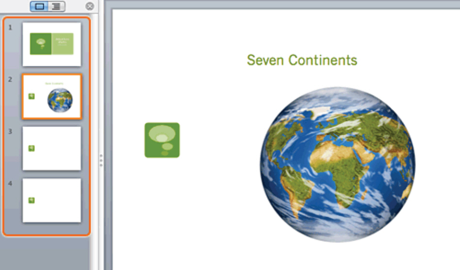 How To Apply a Theme and Layout in PowerPoint 2011 for Mac 2