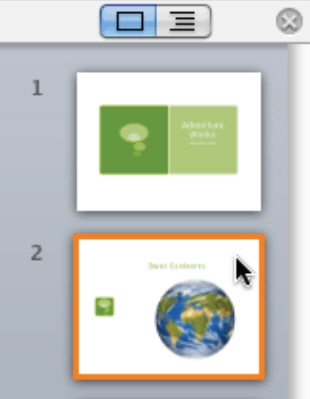 How To Apply a Theme and Layout in PowerPoint 2011 for Mac 3