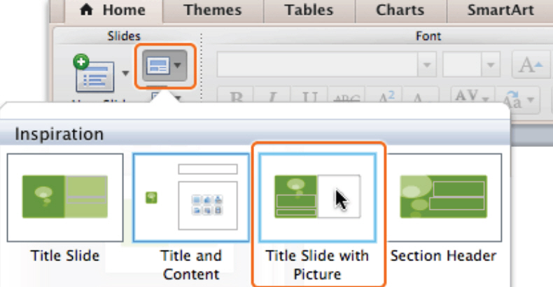 How To Apply a Theme and Layout in PowerPoint 2011 for Mac 4