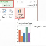 How To Change Chart Type in PowerPoint 2013 1